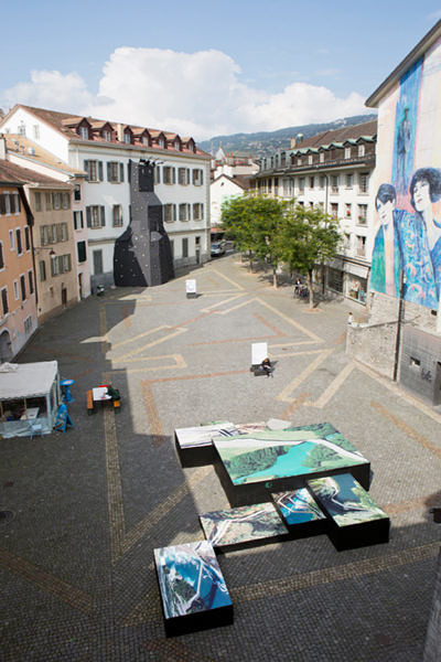 Vevey, Festival Images 2014 - Postcards from Google Earth, Clement Valla (Photo © Celine Michel )